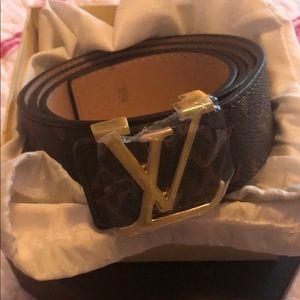 Accessories - Fashion brown designed belt